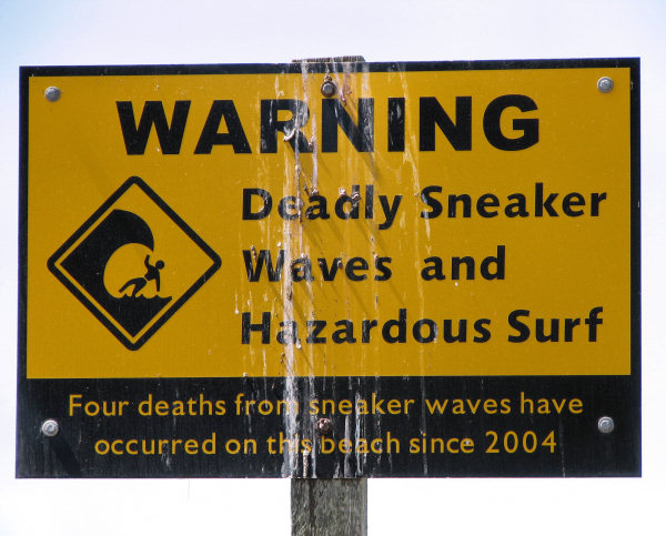 Deadly Sneaker Waves in Crescent City